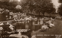 The Rockery, Preston Park, Brighton.