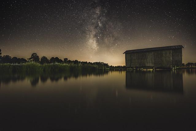Back Creek Milky Way