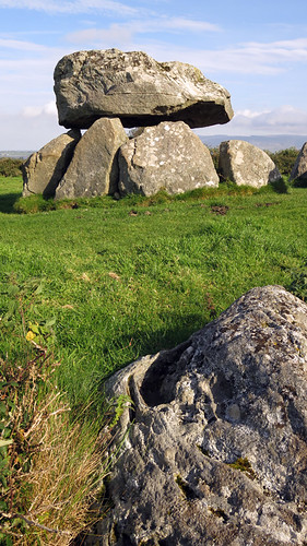 Megalithic tombs at Carrowmore, one of the four major passage tomb complexes in Ireland