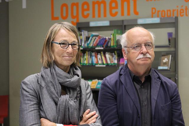 Françoise Nyssen et Erik Orsenna