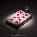 ". 9.15 fri ""Nine Ball"" . 彼女のハートが落とせない . #ビリヤード #トランプ #ナインボール #Billiards #Cards # #NineBall . ーーーーーーーーーーー 《EXHIBITION info》 . 【MINIATURE LIFE展(Umeda,Osaka)】 9/20 wed - 10/2 mon 大丸梅田店 #MINIATURELIFE展 #ミニチュアライフ展 . 【微型展(Kaohsiung,Taiwan)】 12/23 sat - 3/4 sun"