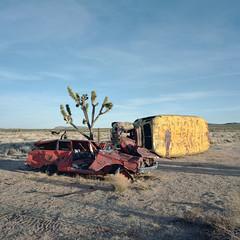 long-term parking. mojave desert, ca. 2014.