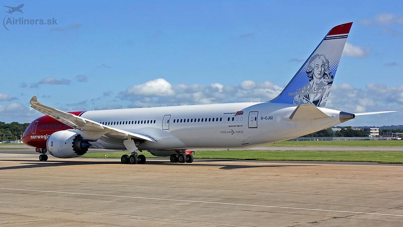 G-CJGI Norwegian Air UK Boeing 787-9 Dreamliner