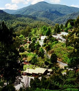 Oct 1995 - Scenic Bogong Village on the way to Falls Creek, Victoria, Australia