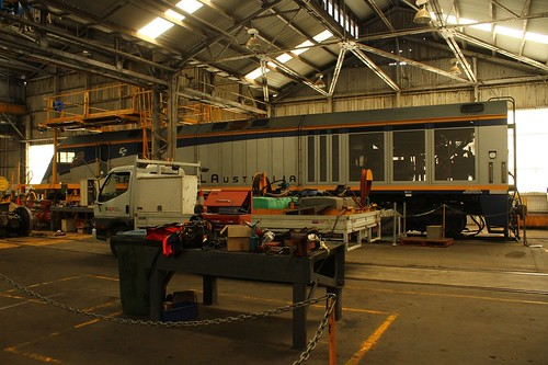 On shed at Islington | by Aussie foamer