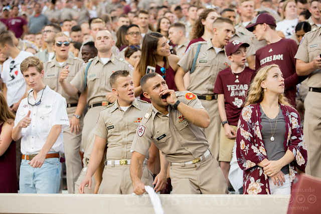 Texas A&M Corps of Cadets Gameday Nicholls State