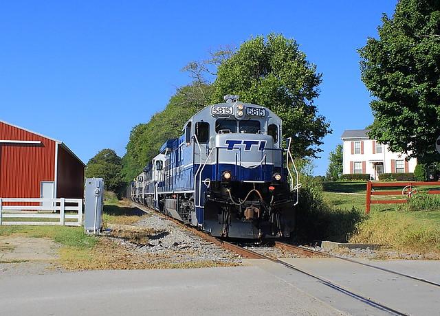 TTI 5815 (GE U36B) Helena, Kentucky