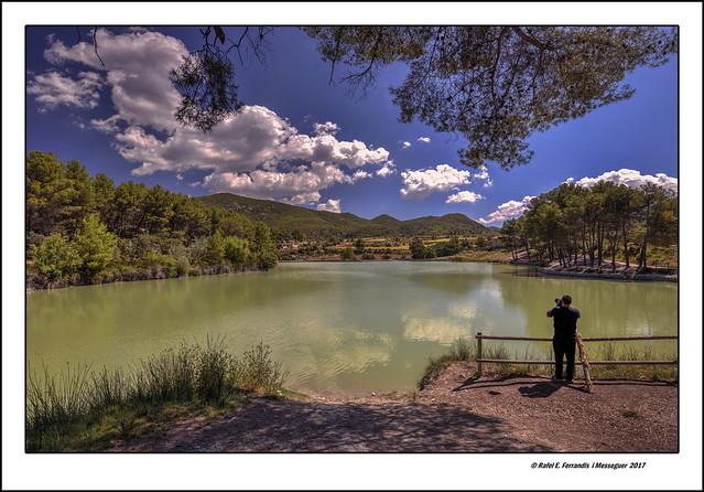 Landscape Photographer (El Bosquet, Moixent, la Costera, València, Spain)