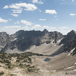 Paintbrush Canyon from Paintbrush Divide