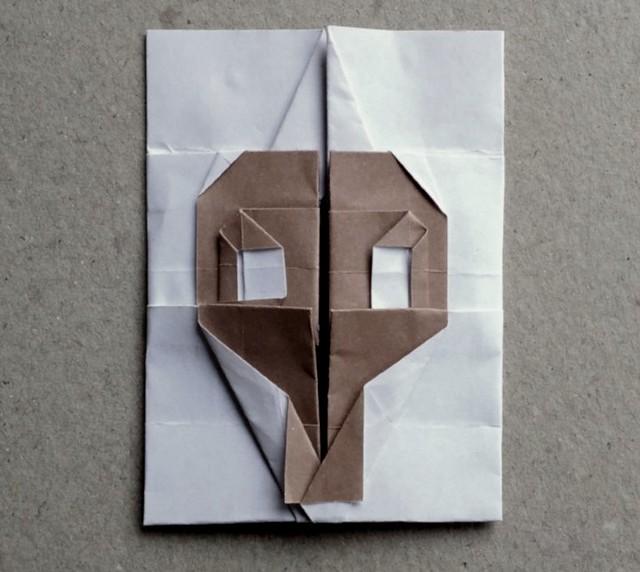 #origami #skull(Hadi Tahir)