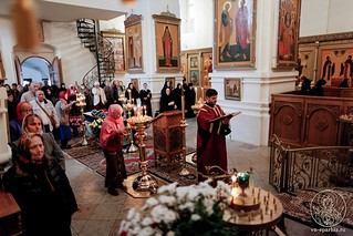 Литургия в Хутынском монастыре 190