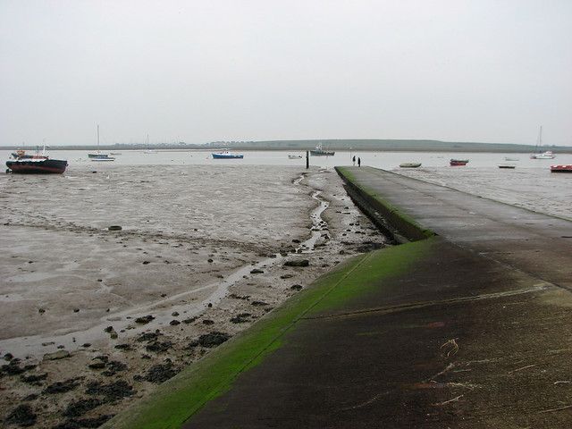 Two Tree Island slipway