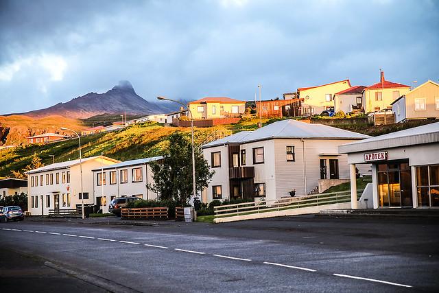 Village of Ólafsvík, Iceland