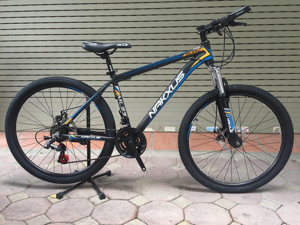 Xe đạp thể thao nakxus ml23 đen xanh dương | Xe đạp thể thao… | Flickr