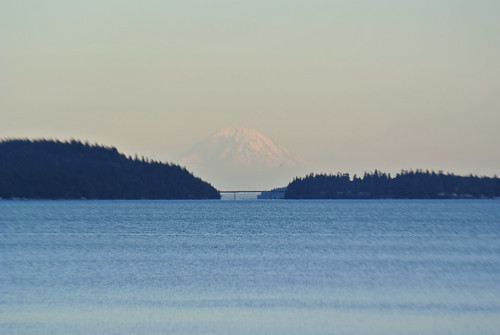 Olympic Mountain Dreams day 1 - Mount Rainier looms beyond Marrowstone Island | by Spiral Cage