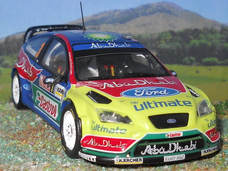 Ford Focus WRC - Montecarlo 2008