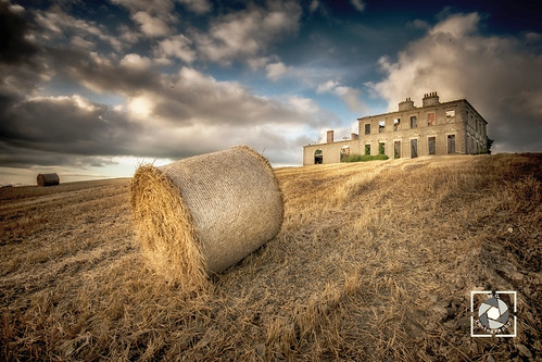 stephenstown house county louth ireland field colours clouds sunset sky golden
