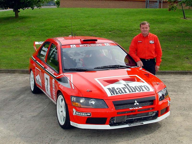 Mitsubishi Lancer WRC (EVO VII) – San Remo 2001