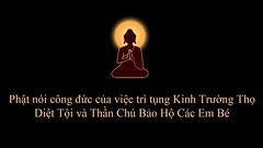 Phật nói về UY LỰC của Kinh_Chú Trường Thọ Diệt Tội - Bảo Hộ Các Em Bé - YouTube