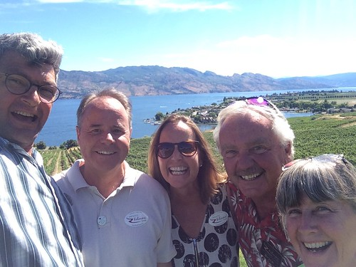 Kelowna wine tour with the 4 of us and Bryce the tour guide | by Pierre Yeremian