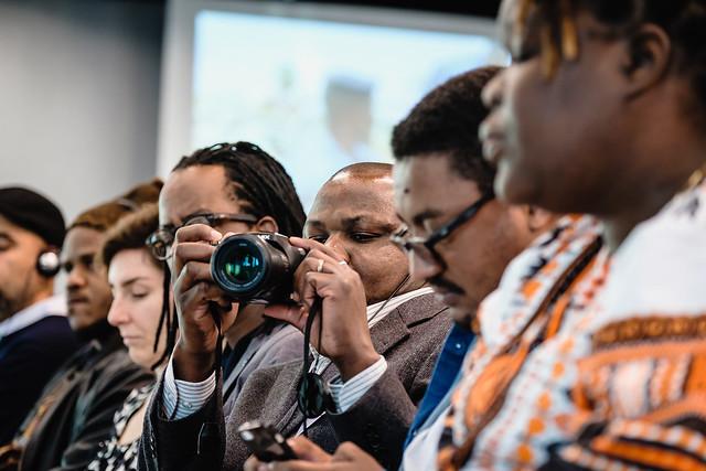 Im Fokus: Eric Topona (Deutsche Welle)  (c) Andi Weiland | Heinrich-Böll-Stiftung (CC by)