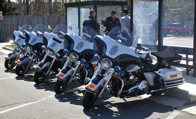 Fairfax County Police Department Harley Davidson Police Motorcycles