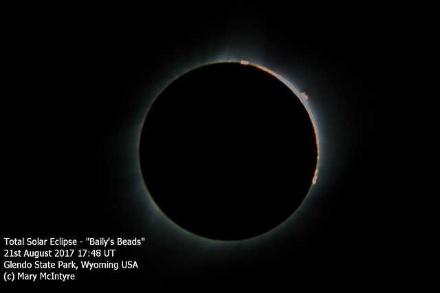 Total Solar Eclipse - Baily's Beads 21/08/17