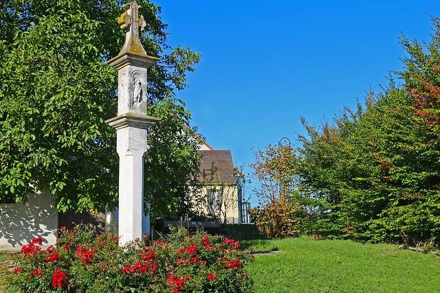 Zellerndorf. Fleischhacker-Marterl, 1679 - Barock
