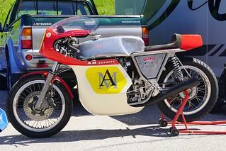 La Rickman-Honda d'Alain Michel... sans Alain Michel !