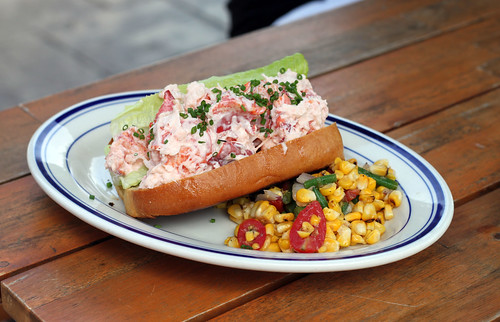 Lobster roll at Millie's Brunch