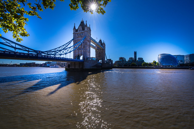Tower Bridge view - London - England