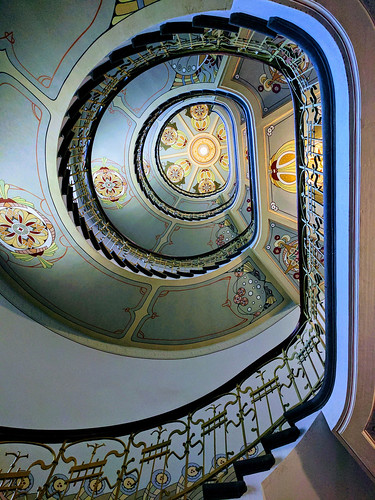 Stairway in Art Nouveau museum, Riga | by Second-Half Travels