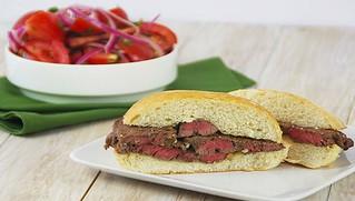 Beef Prego Sandwich