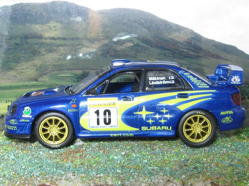 Subaru Impreza WRC – Montecarlo 2002
