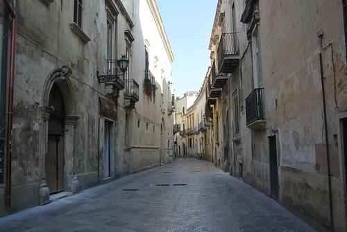 Una strada a Lecce   by Emilia Lives Life
