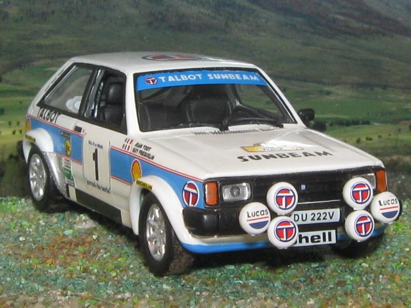 Talbot Sunbean Lotus – Brasil 1981