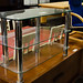 Tiered glass TV unit E60