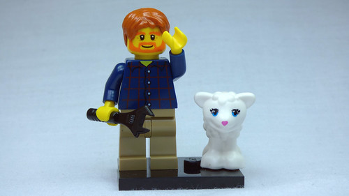Brick Yourself Custom Lego Figure  Davy Had a Little Lamb | by BrickManDan