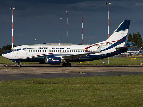 Air Peace | Boeing 737-528(WL) | 5N-BRN | by Bradley's Aviation Photography