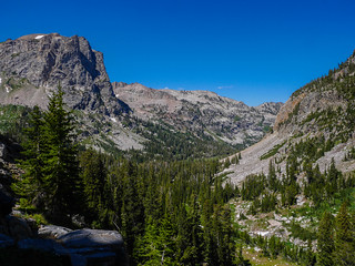 View down the main part of Cascade Canyon | by snackronym