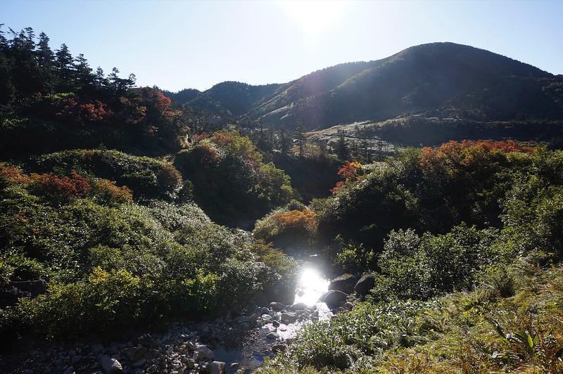 "HAKUSAN Mountain-climbing path ""NANRYUDOU"""