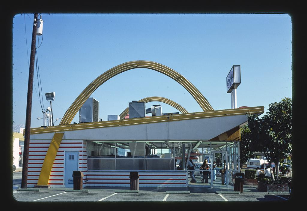 McDonald's, Azusa, California (LOC)
