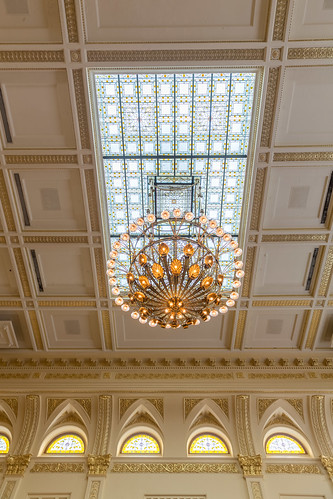 New Jersey General Assembly Chandelier