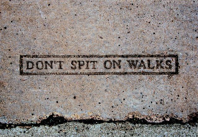 Don't Spit