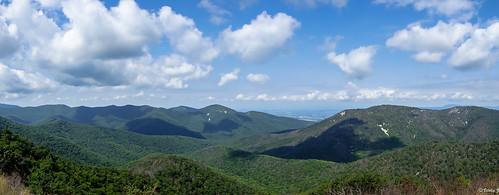 skylinedrive virginia shenandoahnationalpark 105milesroad blueridgemountains mountain travel rx100 sony panorama summer
