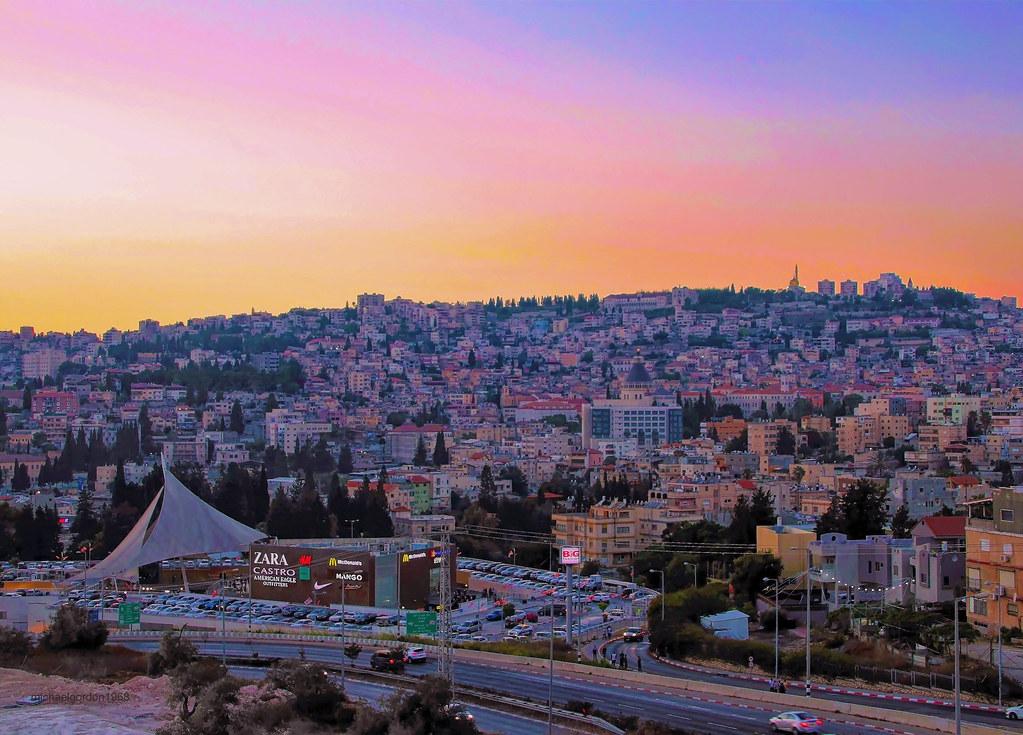 Nazareth. Sunset