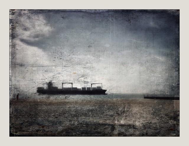Ship on Westerschelde / Zeeland