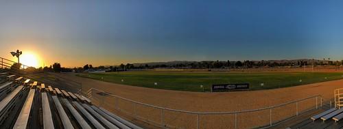 sunset panorama iphone8plus