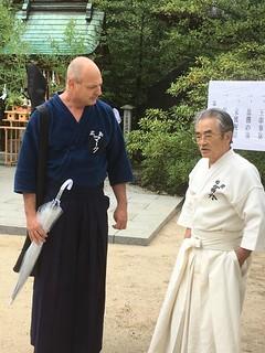 Benefiting from Tominaga Sensei's Vast Wisdom   by Mark Tankosich