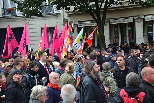 Manif contre les ordonnances Macron